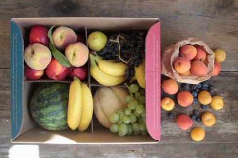 Box di frutta medio