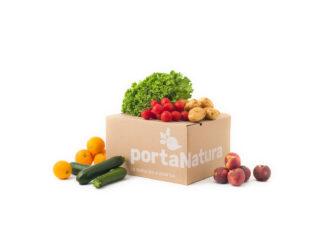 Box piccola di frutta e verdura bio