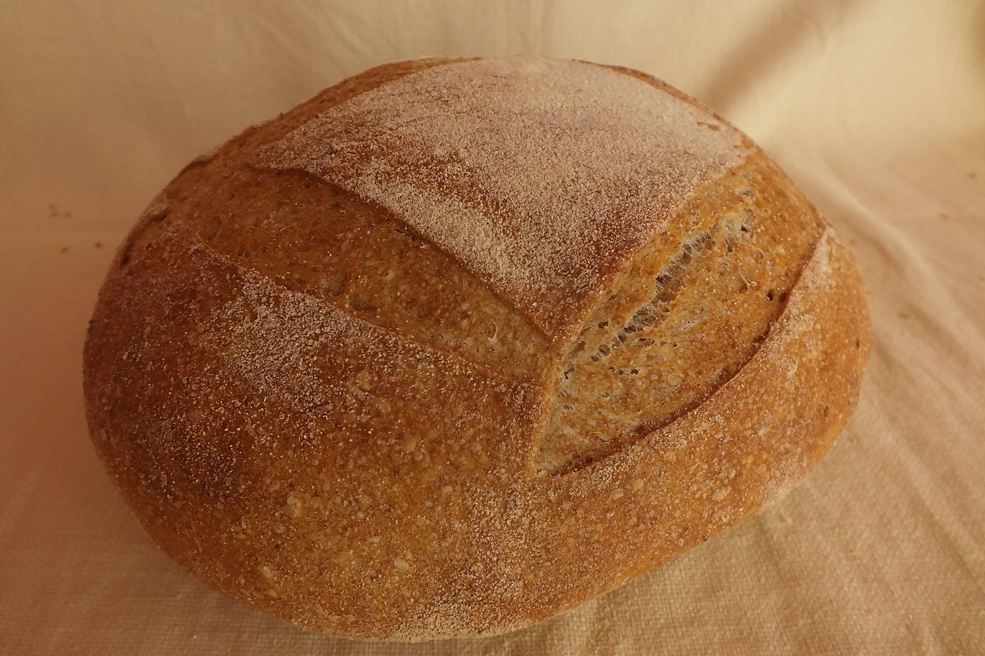 Pane semi-integrale di Grano tenero