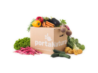 Box media di verdura bio