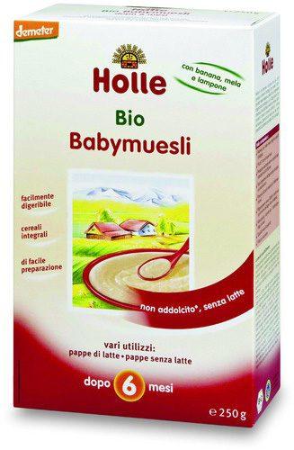 Baby muesli integrale: dopo i 6 mesi