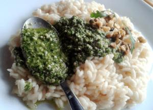 Risotto Integrale al Pesto di Tarassaco