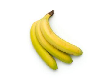 Banane giallo-verdi (poco mature)