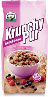 Krunchy Pur – Granola di avena con frutti di bosco