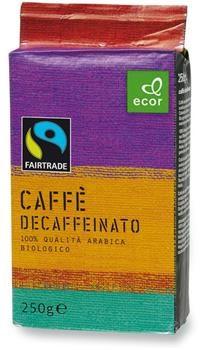 Caffè fair trade decaffeinato