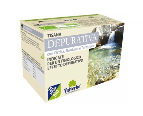 tisana depurativa bio valverbe