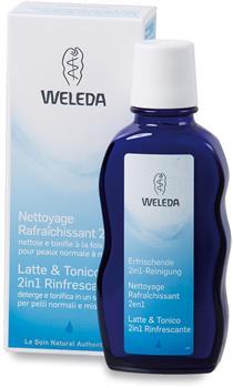 Latte e tonico 2 in 1 rinfrescante Weleda