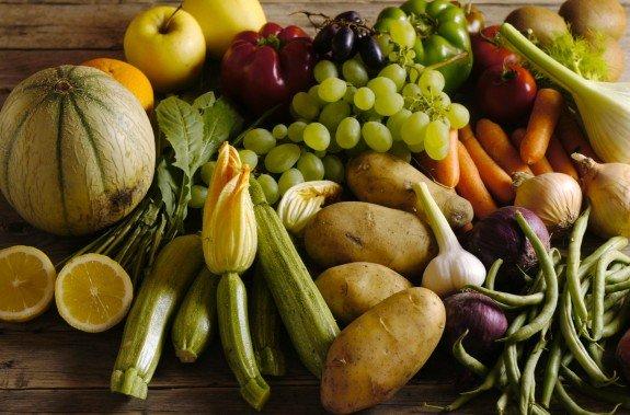 Frutta e verdura sfusa