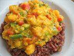 Curry di zucca e lenticchie