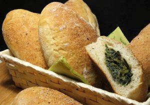 Calzoni ripieni di pan di zucchero