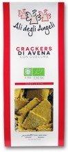 Crackers di avena con curcuma
