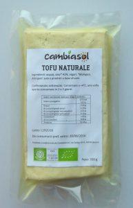 Tofu naturale bio Cambiasol