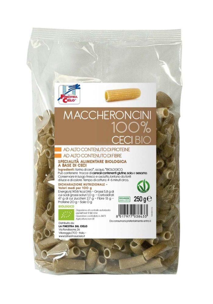 Maccheroncini 100% Ceci bio