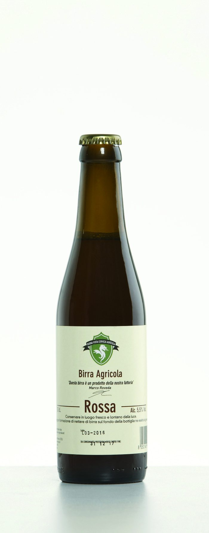 Birra agricola ambrata 33cl