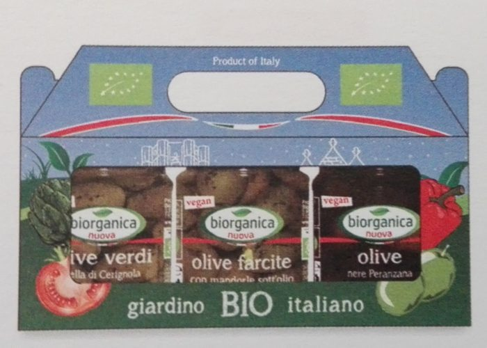Tris Olive Pugliesi 3x190 gr