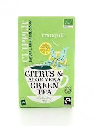 Tè verde Aloe vera e Limone