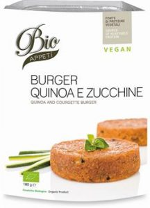 Burger Quinoa Zucchine e Tofu