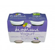 Yogurt magro di latte di capra al Mirtillo Bio Bruni