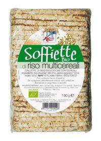 Soffiette di riso con Multicereali privi di glutine