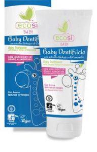 Baby dentifricio EcoSì