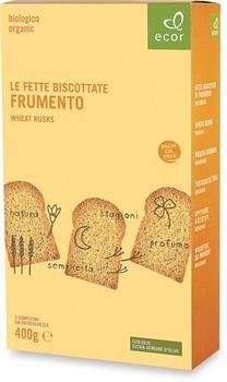 Fette biscottate Frumento semintegrale Ecor