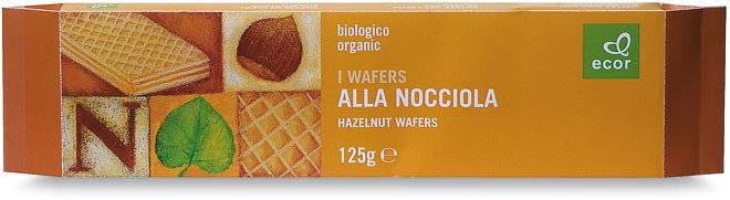 Wafers alla Nocciola