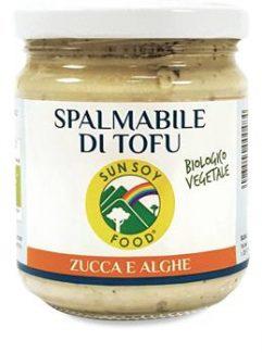 Spalmabile di Tofu con Zucca e Alghe