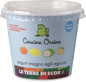 Yogurt magro agli Agrumi