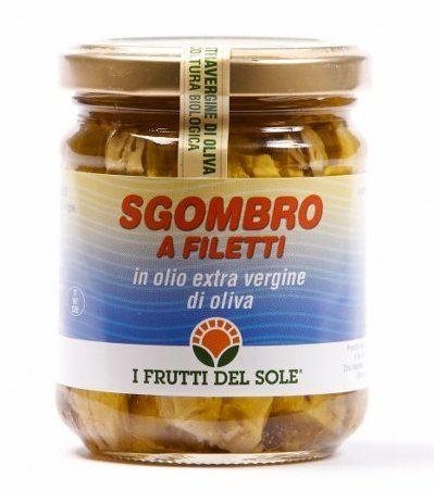 Filetti di Sgombro in Olio e.v.o.
