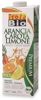 Succo di Arancia Carota Limone