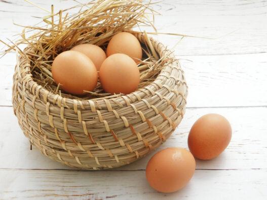 6 uova bio sfuse dal contadino