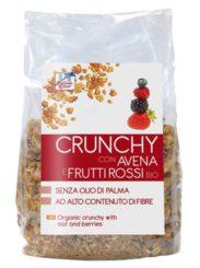 CRUNCHY Muesli con Avena e Frutti rossi