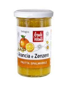 Frutta spalmabile Arancia e Zenzero