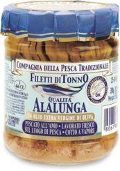 Filetti di tonno in olio extravergine di oliva
