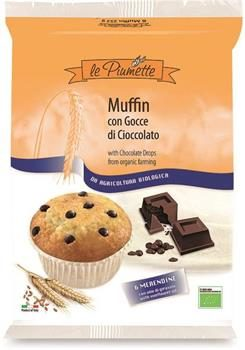 Muffin con gocce di cioccolato (6x42g)