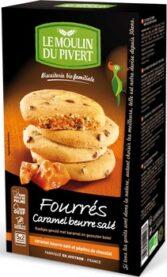 Cookies Ripieni Di Caramello E Burro Salato Con Pepite Di Cioccolato