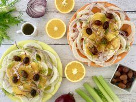 Kate's salad: insalata di finocchi, arancia, cipolla