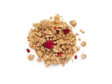 Crunchy avena e frutti rossi