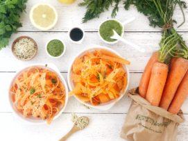 Tagliatelle di carote