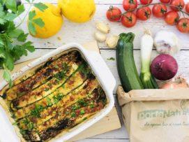 Lasagne di zucchine grigliate e ricotta