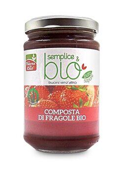 Composta di Fragole - Semplice e Bio