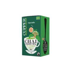 Tè Verde Chai con Cannella e Arancia – Cupper