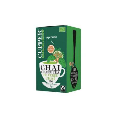 Tè Verde Chai con Cannella e Arancia - Cupper
