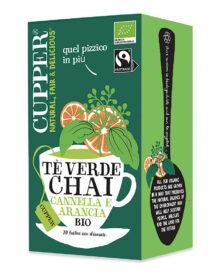 Tè Verde Chai Cannella e Arancia
