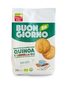Biscotti Farro, Quinoa e Cannella