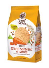 Biscotti Grano Saraceno e Carota