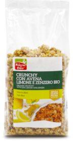 Crunchy con Avena, Limone e Zenzero