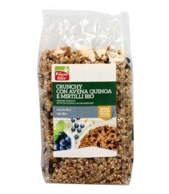 Crunchy con Avena, Quinoa e Mirtilli
