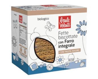 Fette Biscottate con Farro Integrale